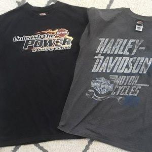 Harley-Davidson men's t-shirts size large